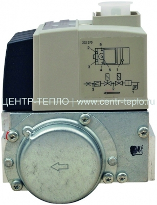 Мультиблок Rp 1/2 230 В, WG5 типа W-MF 055 D01 S20